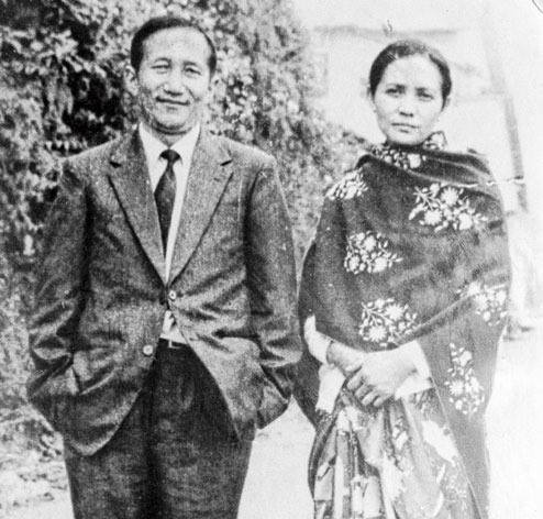Prithilal Subba and his wife