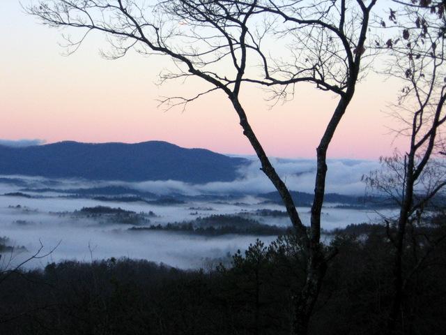 capturing the mountain landscape