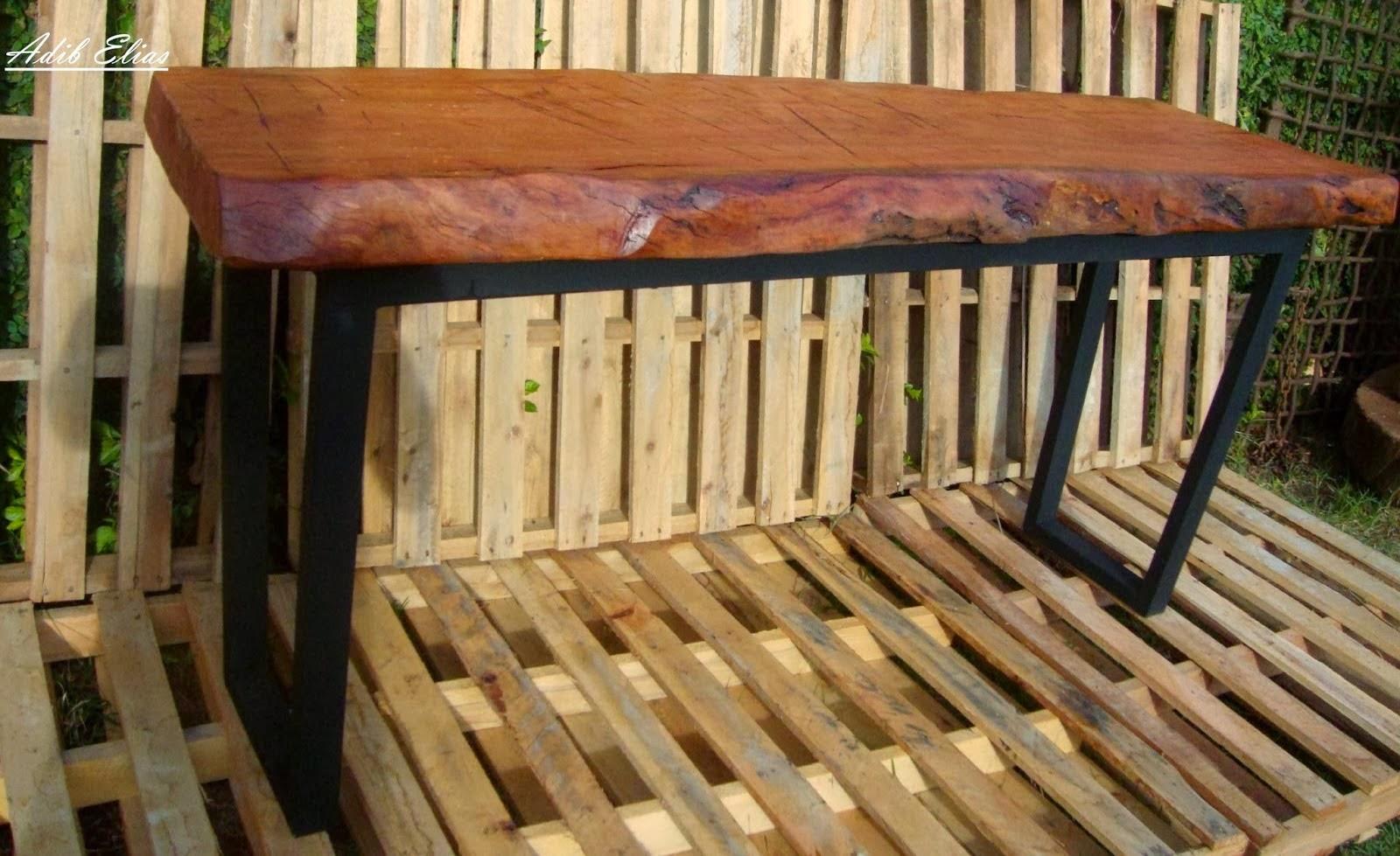 Aparador de madeira reciclada com base de pés de máquina de costura  #A57426 1600x979