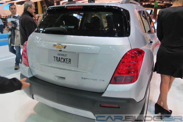 Novo Chevrolet Tracker 2014: fotos e vídeo