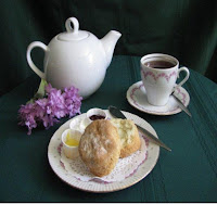 image teapot scone