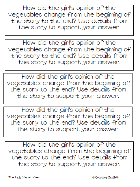 Swimming Into Second: Reading Response Prompts (freebie)