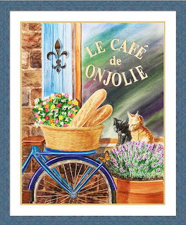 bicycle basket cats flowers window