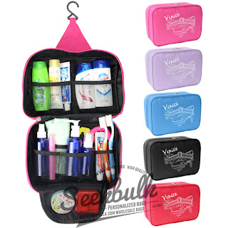 promotional hanging travel toiletry bag for men