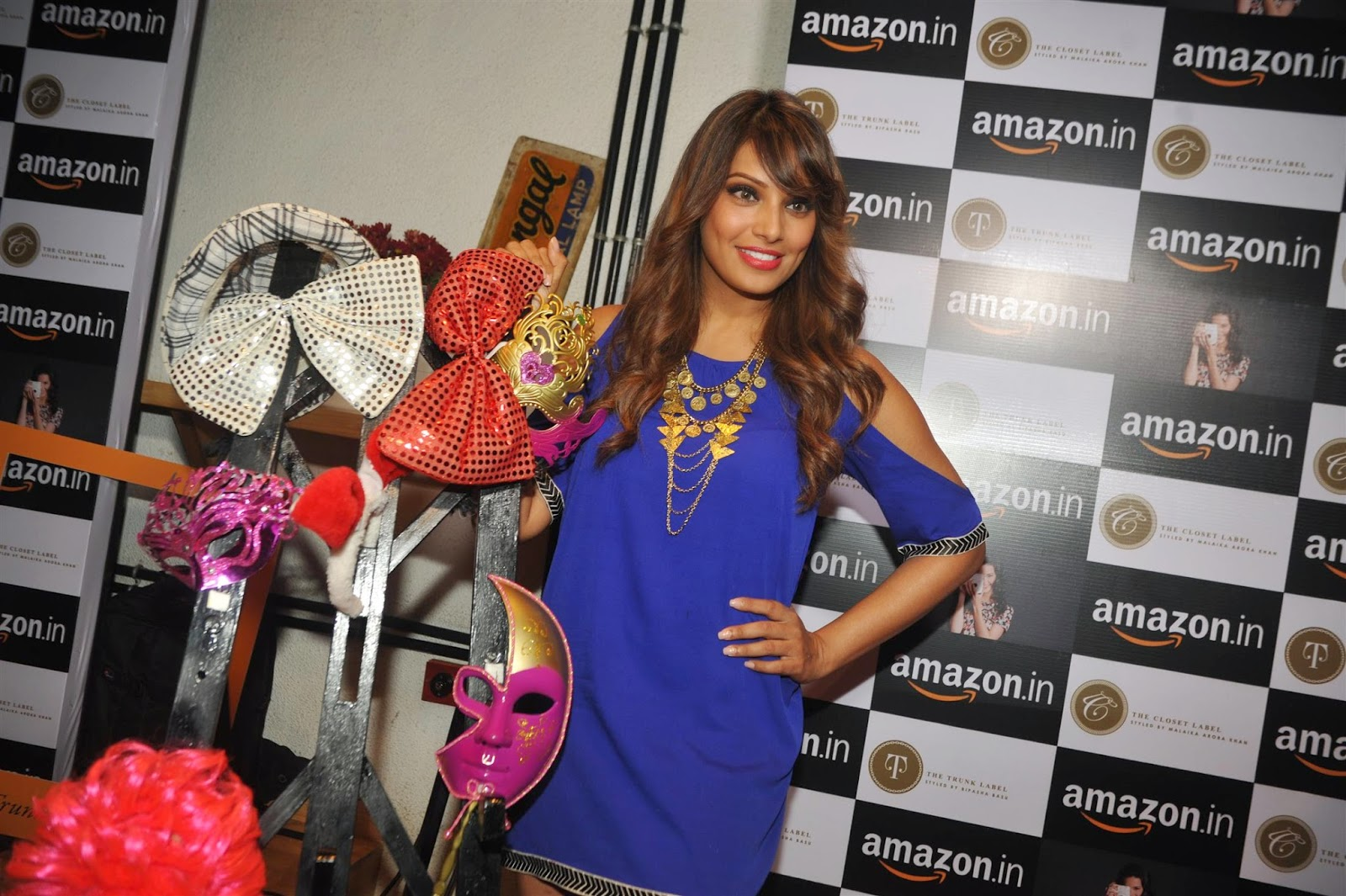 Bipasha Basu With Malaika Arora Khan at Amazon.in Event Photos