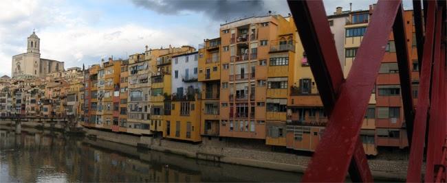 Pont de ferro. Encants de Girona.
