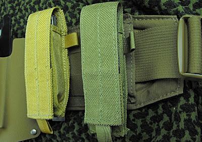 multi-tool sheath comparison on ATS war belt