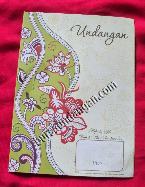 Download Desain Kartu Undangan Pernikahan Modern - Kode MIKO 38