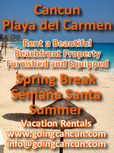 Cancun Vacation Rentals