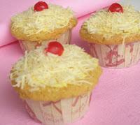 Resep Kue Cupcake Keju Lembut