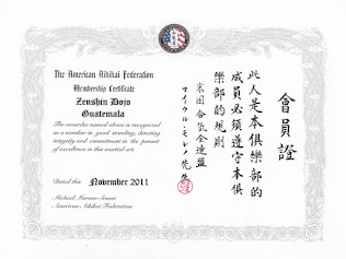 American Aikikai Federation Afiliation