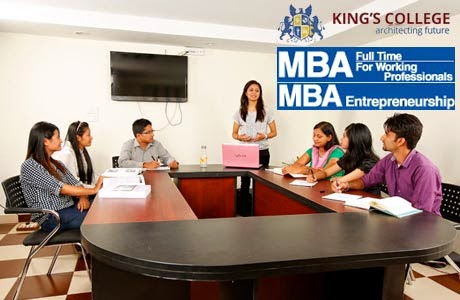 Admission Open: MBA from King's College