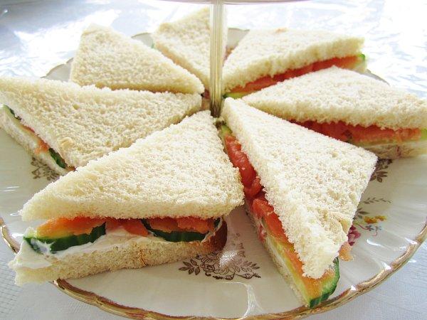 Mission: Food: Tea Week: Tea Sandwiches