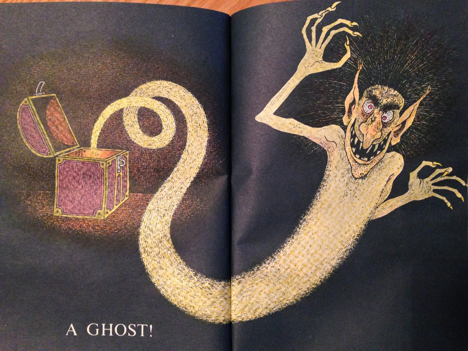 Erin\'s Blog: In a dark, dark Room and other scary Stories