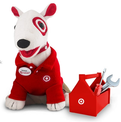 Target addict september 2011 What kind of dog is the target mascot