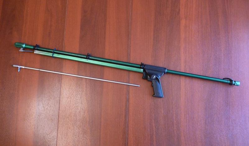Простейшее подводное ружье