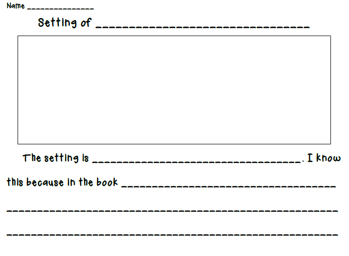 Setting Worksheets Free Worksheets Library – Setting of a Story Worksheets