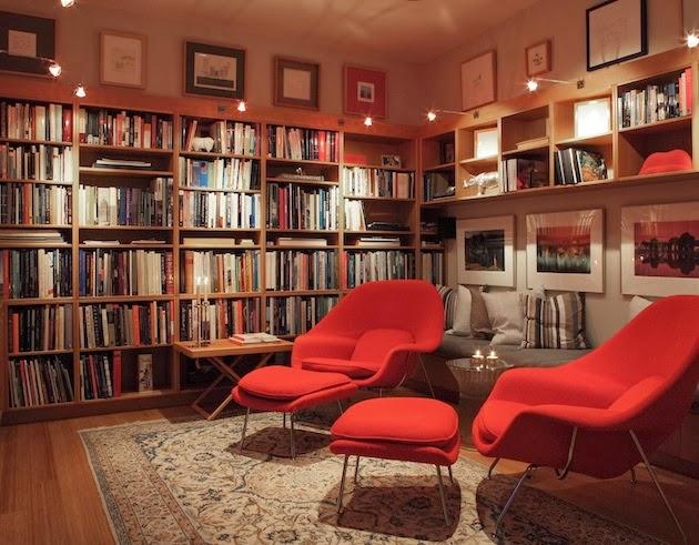 Foundation Dezin Decor Home Library Designs Tips