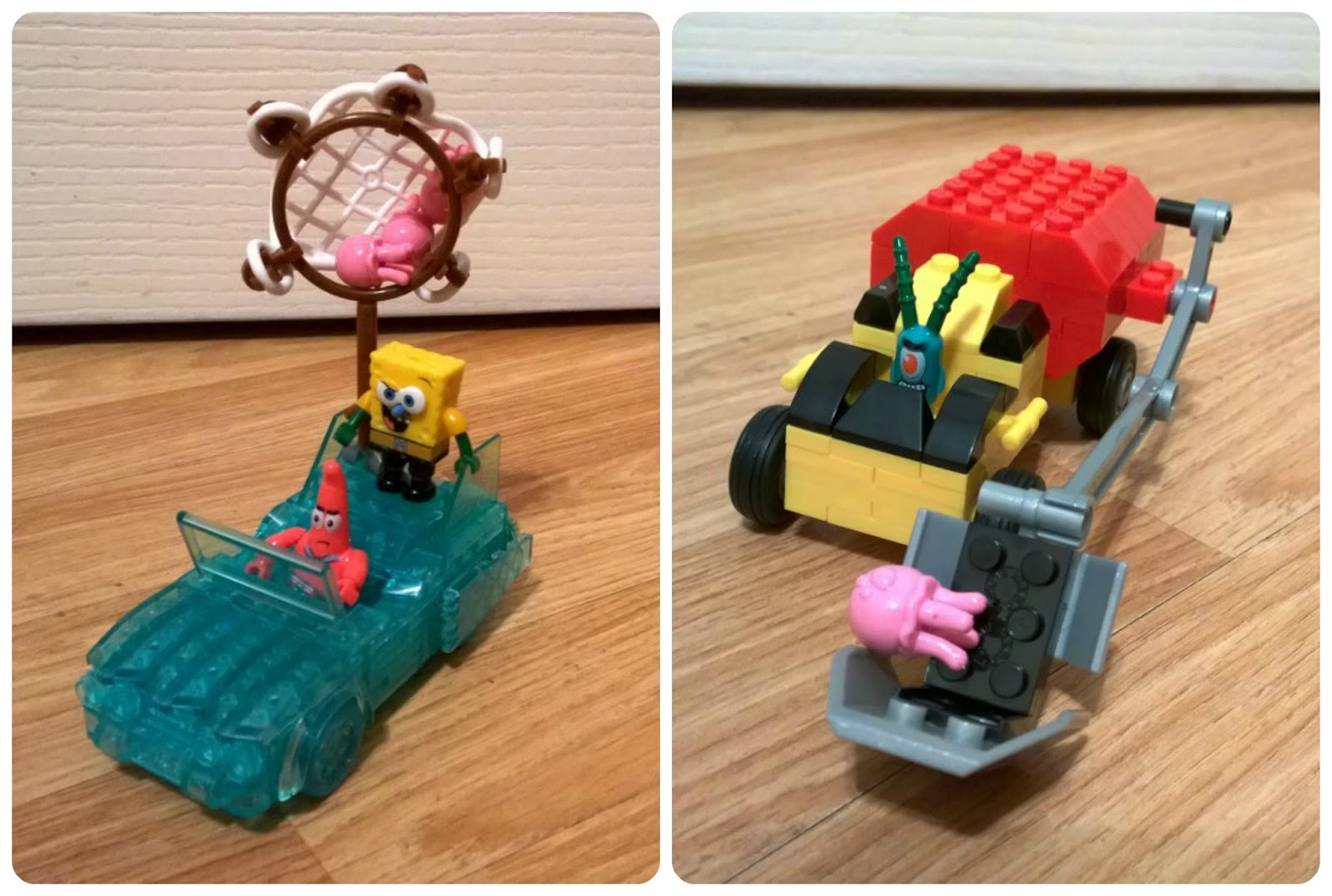 SpongeBob SquarePants Invisible Boatmobile Rescue