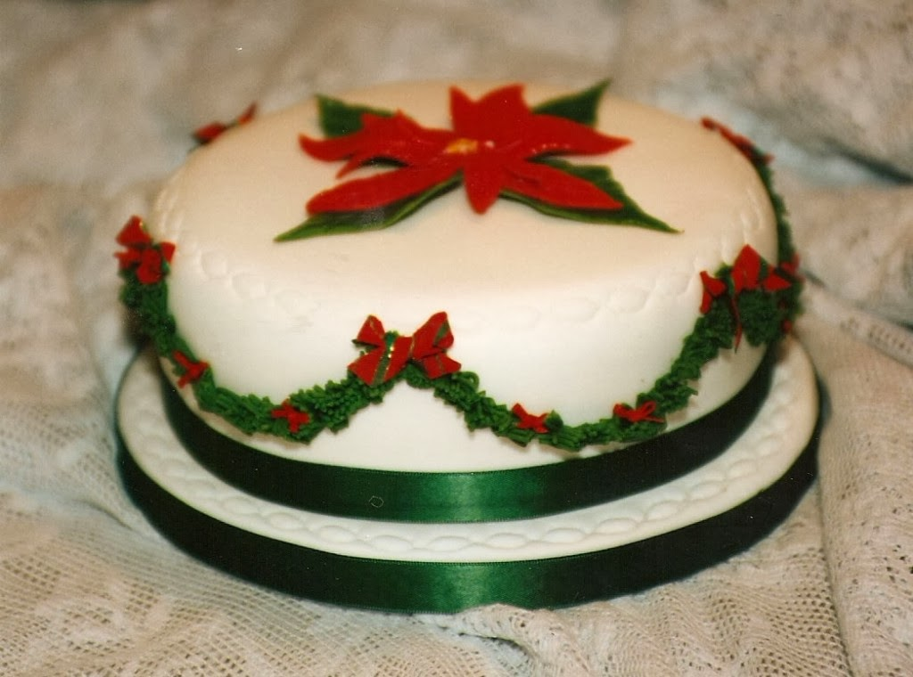Wonderland christmas cake decorating ideas for Decoration ideas for christmas cake