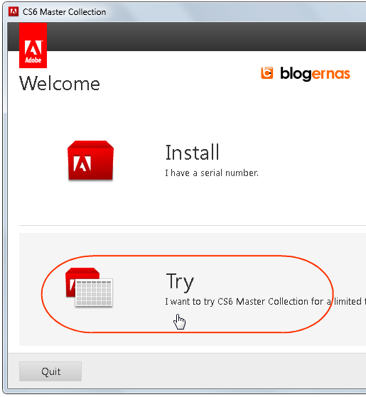 Cara Install Adobe CS6 Master Collection (Full Gambar Tutorial)