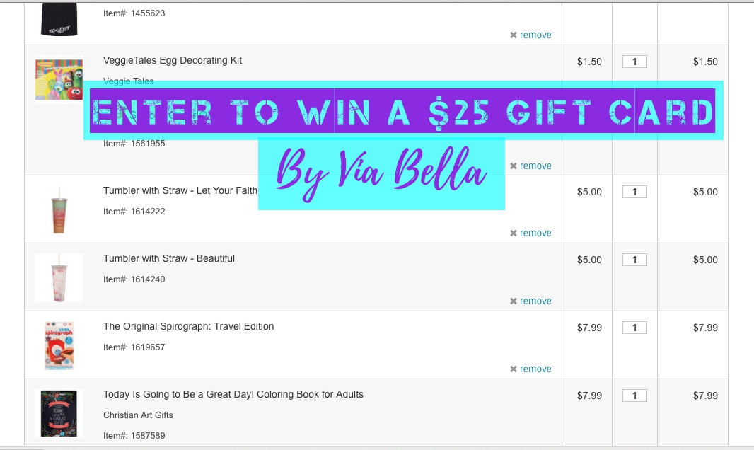 via bella enter to win a 25 online gift card