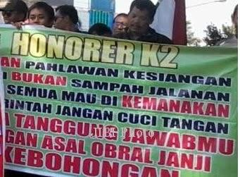 SE Pengangkatan Honorer Asli Batal Dikeluarkan