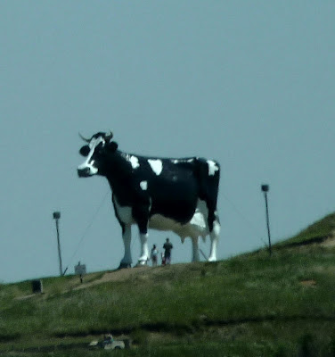 giant cow statue