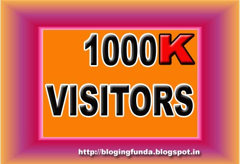 How to Achieve Millions of Lifetime Visitors with Blogging? This seems pretty cool and easy but, let me tell you one thing that if you are not following some basic guidelines then you are just hitting in the dark.