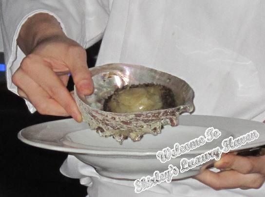 dbs underground supperclub mikuni abalone shell
