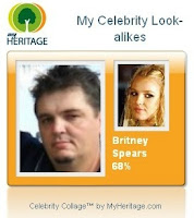 Britney Spears looks like Thomas