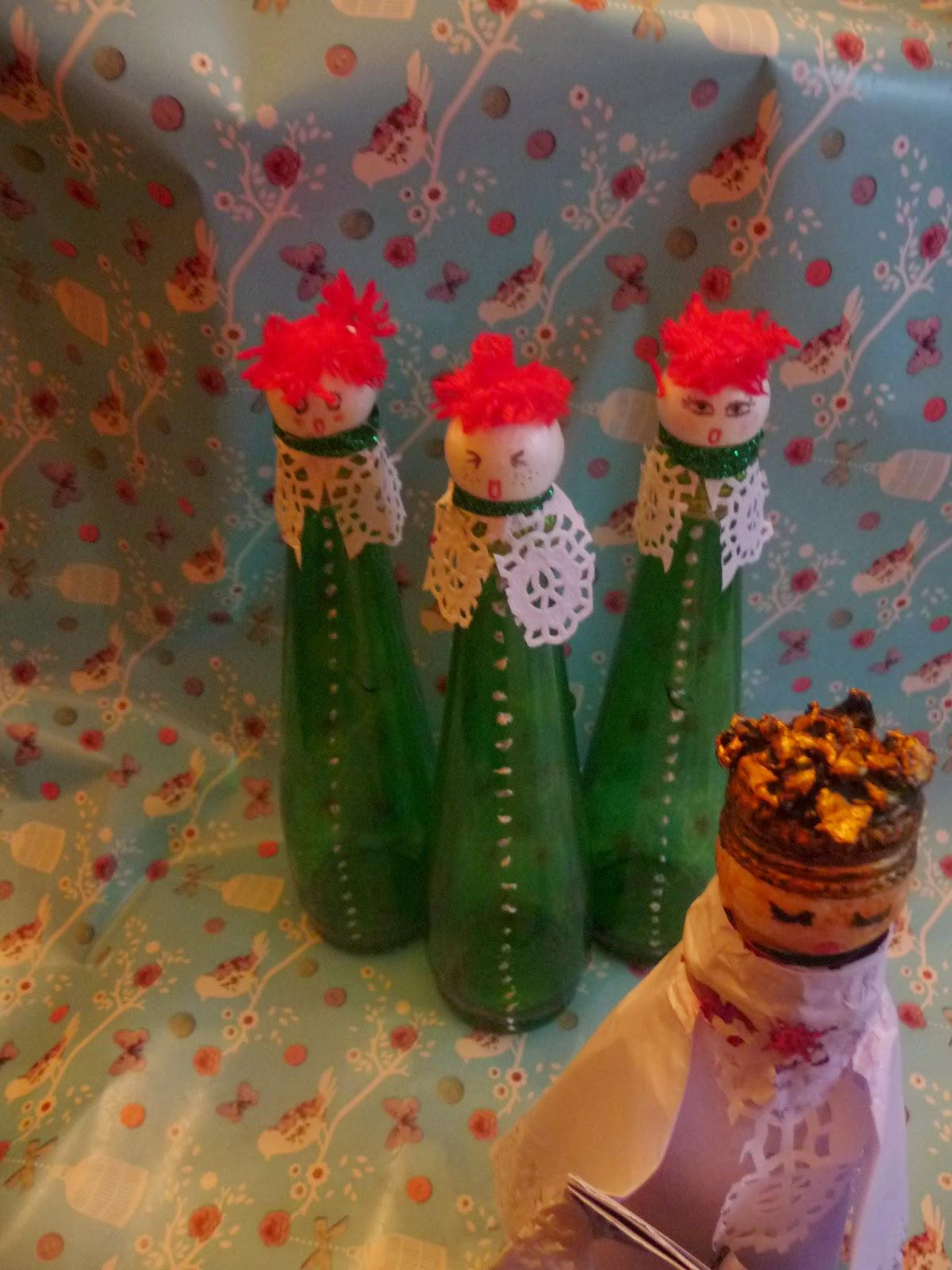 Atelier victoriano adornos de navidad con materiales - Adornos de navidad con material reciclado para ninos ...