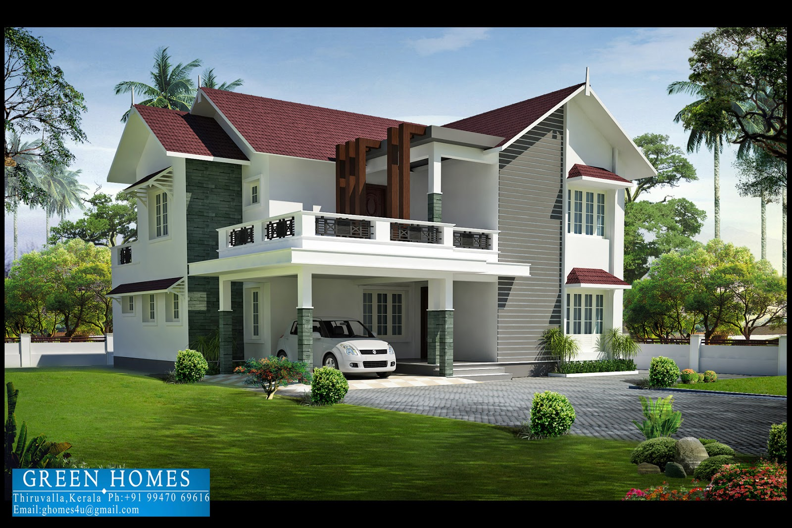 Green homes january 2013 for Kerala home design 2013