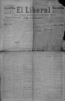 El último día de 1915 en El Liberal de Sevilla