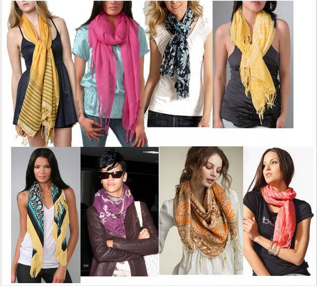 Scarves Styles - Best Ways To Wear Scarf