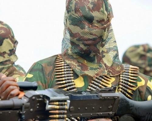 Boko Haram jihadist.