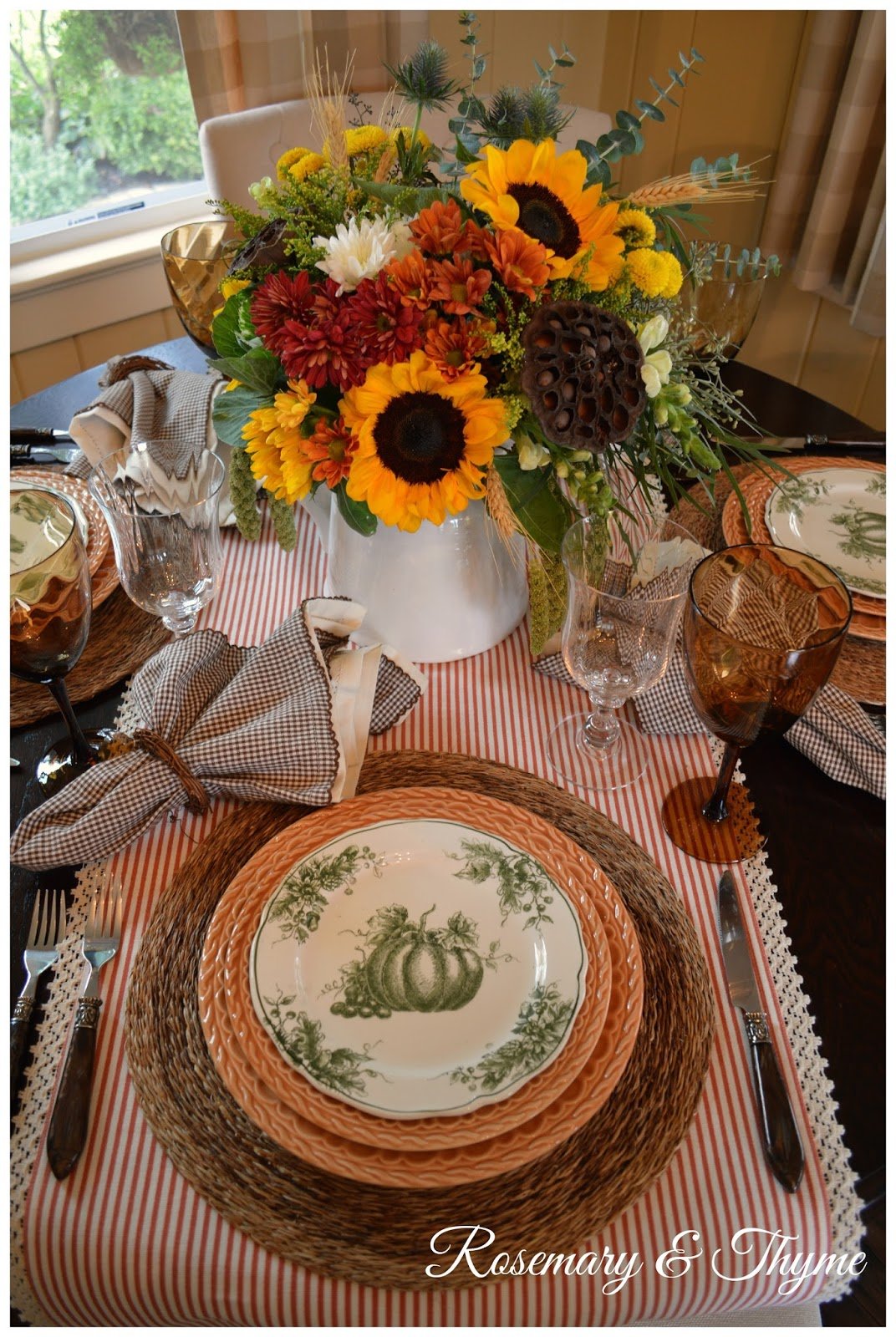 Autumn Inspired Tablescape