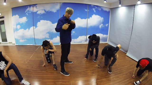 exo growl dance practice screencap