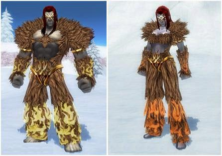 Mabinogi Transformation Feature