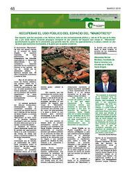 Noticias de NC Santa Brígida en Gaceta Marzo