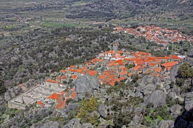 Village Built Among Rocks