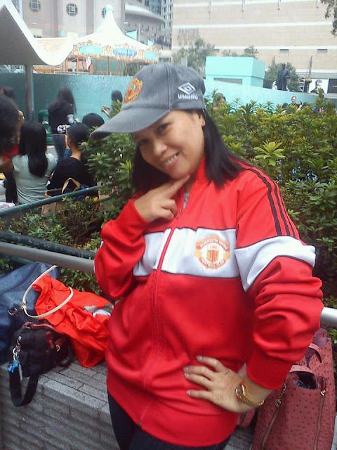Manchester United Girls from The Philipinnes