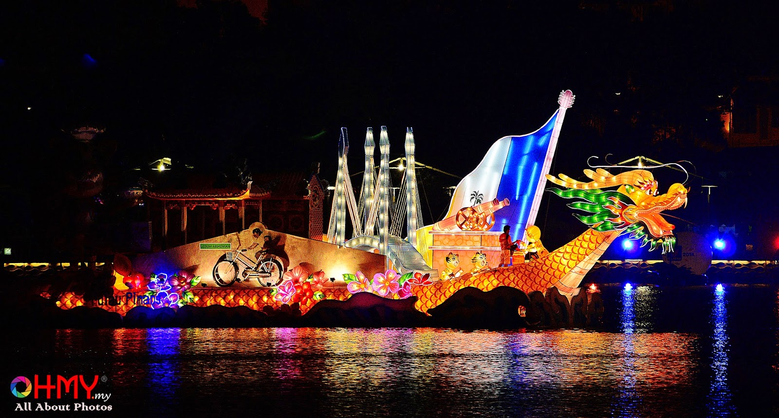 Warna Wani Magic Of The Night | Floria Putrajaya 2014
