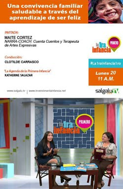 ENTREVISTA EN SALGALÚ TV ONLINE