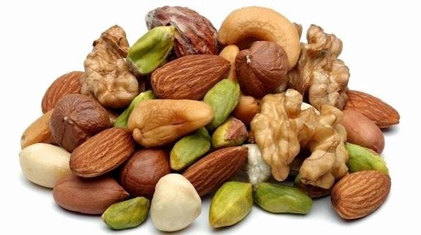 Frutos secos en la alimentación