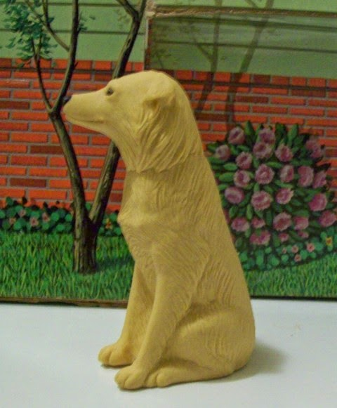 Profile of Mattel Photo Student Ken's golden retriever