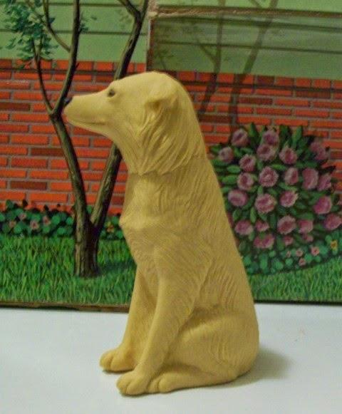 Profile of Mattel Photo Student Ken's golden retriever