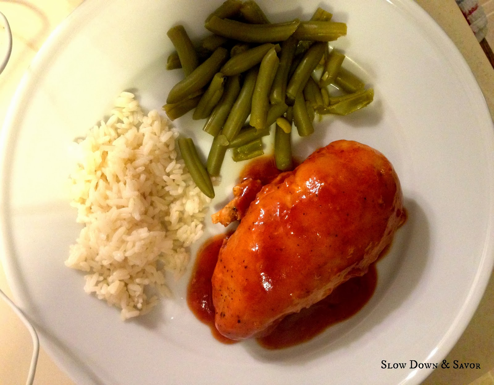 Another Crock-Pot Winner: Spicy Peach Chicken - Slow Down and Savor