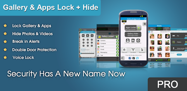 Gallery & Apps Lock Pro + Hide apk