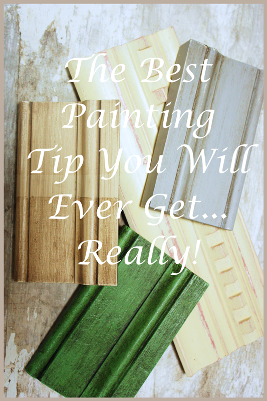 The Best Painting Tip You Will Ever Get  Really! - Stonegable